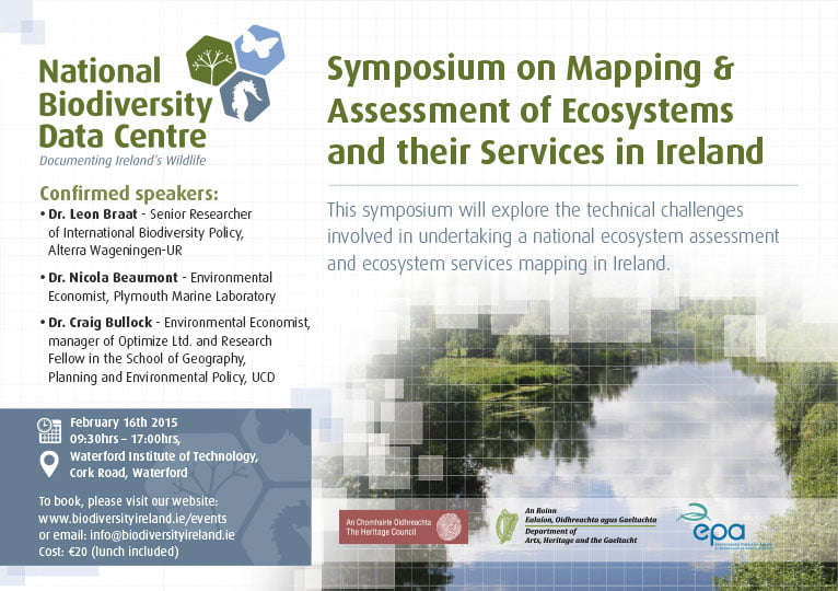 Ecosystems Mapping Syposium