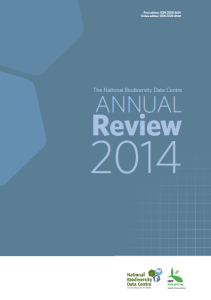National Biodiversity Data Centre Annual Review 2014