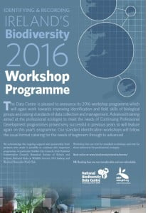 Biodiversity Workshop Programme 2016