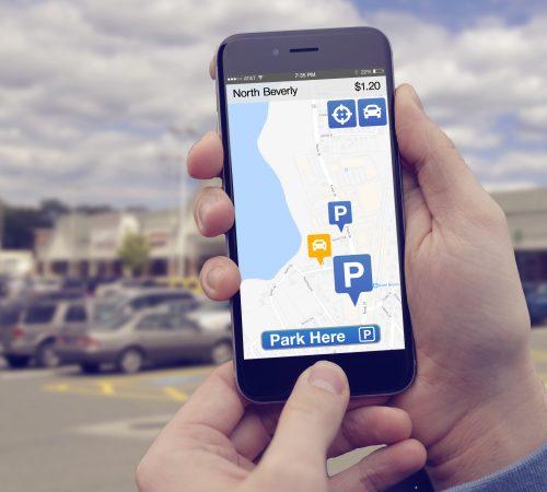 GoParkit mobile parking app